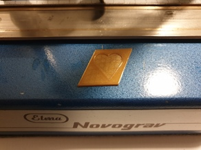 Symbols for engraving machine Elma Novograv, Ringstar and other