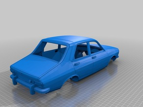 Renault 12 Scale Body Car