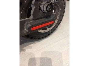 Cache vis roue arrière Xiaomi M365