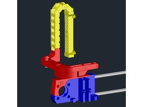GEEETech i3X (PRINTED version): X-Motor End