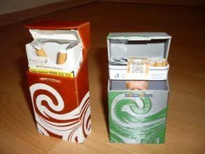 Cigarette box / case - dual extrusion