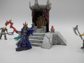 Lich Throne - 28mm Gamging