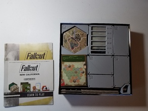 Fallout Board Game + New California Expansion Insert