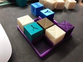 XyzO - Calibration Game