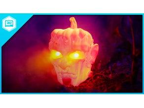 Pumpkinstein's Monster Hallowed for LED Eyes