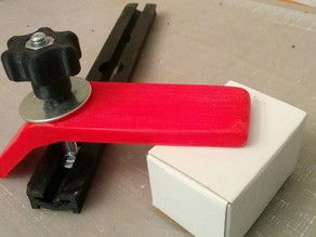 T-Slot for 1/4-20 Carriage Bolts and hold down clamp