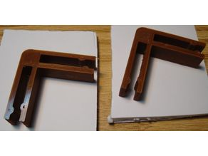 90 Degree angle clips for 5mm foam board