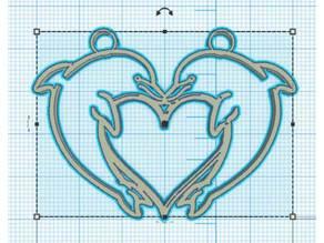 dolphin heart - coeur de dauphin