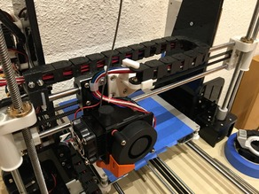 Anet A8 x-axis Igus adaptation to igus chain