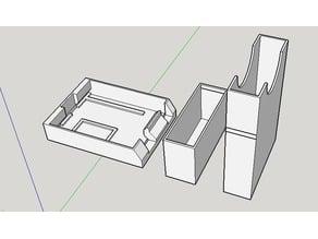 Arduino Uno Tray and Slip case - no screws needed.