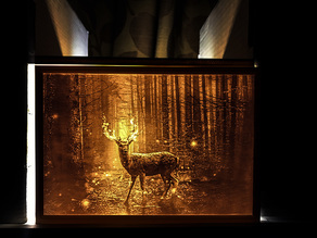 Fire Deer Lithophane