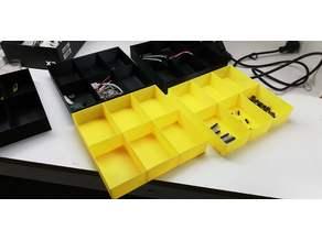 Simple Drawer Box / Caja con separadores