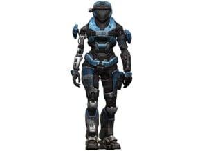Halo Reach - Noble 2 - Kat - Catherine-B320 - Mark 5 armor set including Helmet