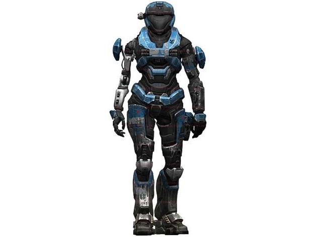 Halo Reach - Noble 2 - Kat - Catherine-B320 - Mark 5 armor