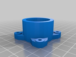 PVC pipe holder (27mm OD)