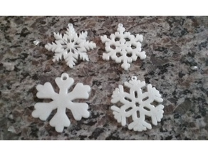 Snowflakes 2.0 ornaments