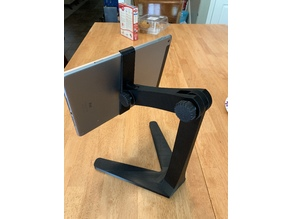 Adjustable iPad Air 2 mount