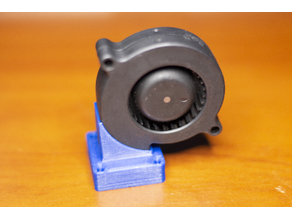 Radial fan mount for E3D v6