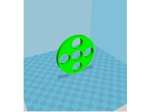 5 Bearing Circular Fidget Spinner