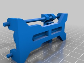CD ROM stepper motor holder for CNC (cnc için mini step motor tutucu)