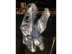 Poly T-Rex Skull