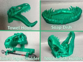 T-REX Remix Bathroom Set