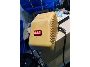 C64PSU voltage meter border