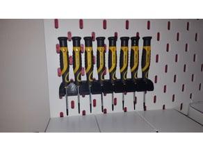 WORKZONE Aldi Micro Screwdriver Ikea Wall Mount / Schraubendreher Wandbefestigung