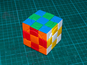 Crazy 3x3x3 Plus cube (whole original series + 2face series)