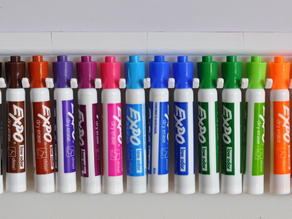 Whiteboard Pens and Eraser Holders