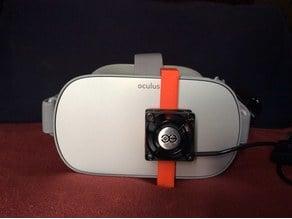 Oculus Fan cover clip