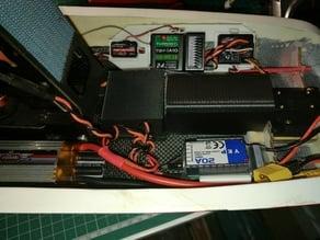 Augusta A109 600 Scale Heli Battery Riser