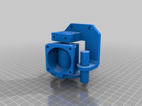 Parametric JHead / E3D holder with ring Led and Inductive Sensor Support