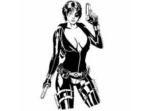 Domino stencil