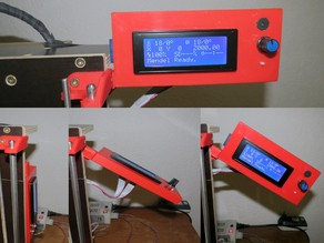 Double Hinged Smart LCD Frame