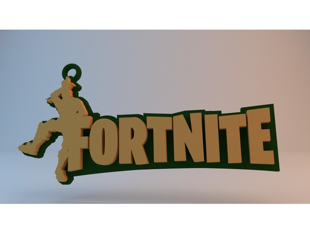 Fortnite Keychain Quot Take The L Quot By Mkvgz Thingiverse