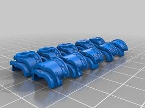 Ultramarine Cataphractii Shoulder Pads