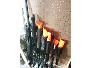 Rifle Pegboard Stand Hook