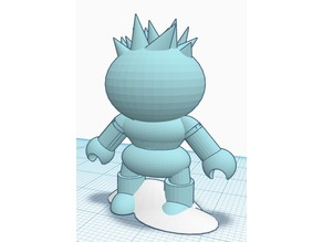 Cartoon Figure Ice Guy