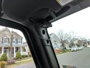 Jeep Wrangler Magnetic Dashcam Mobius Mount Headliner