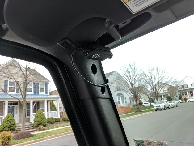 Jeep Wrangler Apps >> Jeep Wrangler Magnetic Dashcam Mobius Mount Headliner by ...