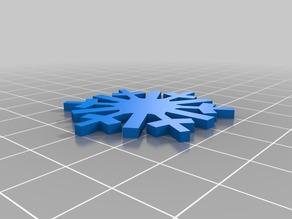 BlocksCAD Classic Snowflake