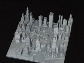 Old World Trade Center Complex After Destruction