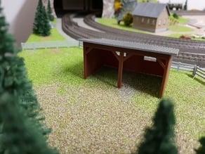 H0/HO - barn/garage - Scheune/Garage