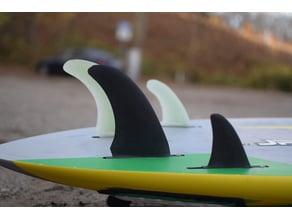 Windsurf Fin Quad Wave 15cm