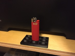 Bic Lighter Display
