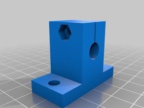 CNC / 3D Printer Parts - 8mm Linear Rail Support