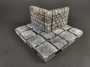OpenForge 2.0 Dungeon Stone Pillar (Internal Corner)