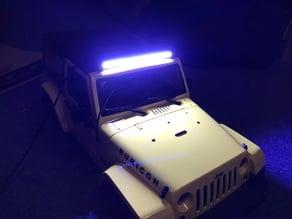 RC Car LED Lightbar Jeep JK 1/10
