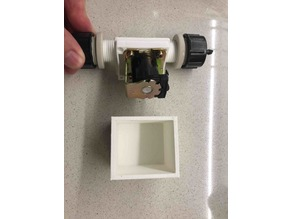 Arduino solenoid valve enclosure